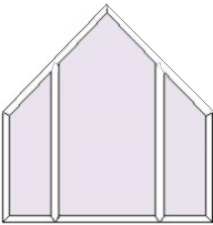 Angled Window